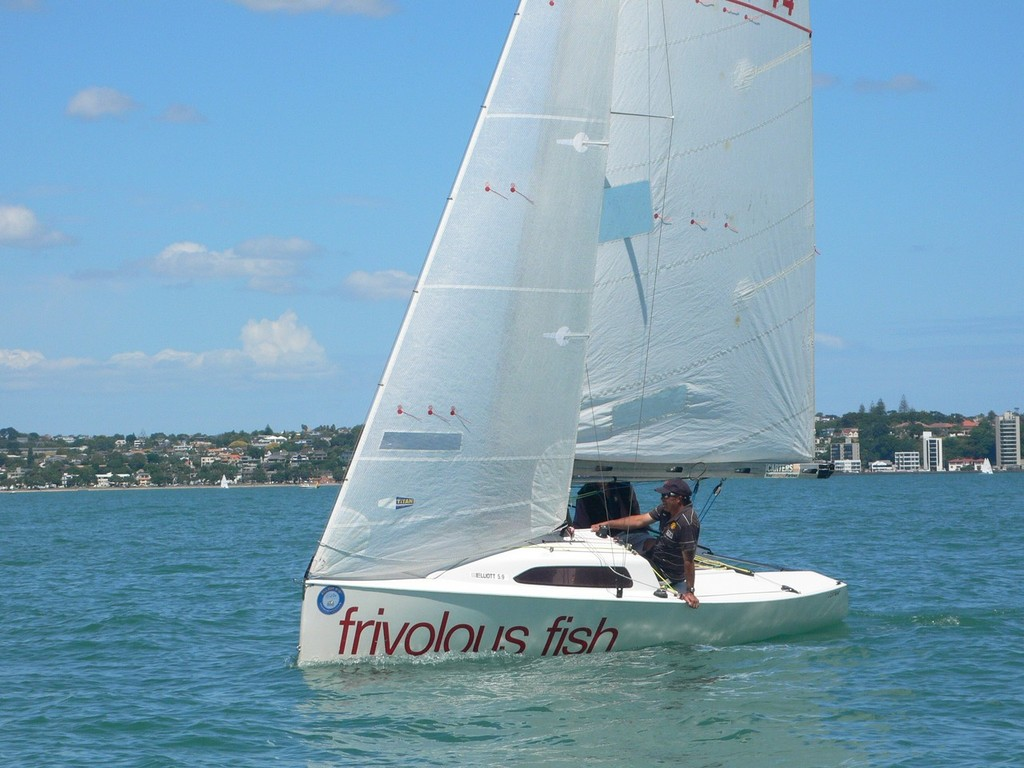 Frivolous Fish - Opua based competitor at the 2012 Elliott 5.9 Nationals - 2012 Elliott 5.9 Nationals © Rob Gill