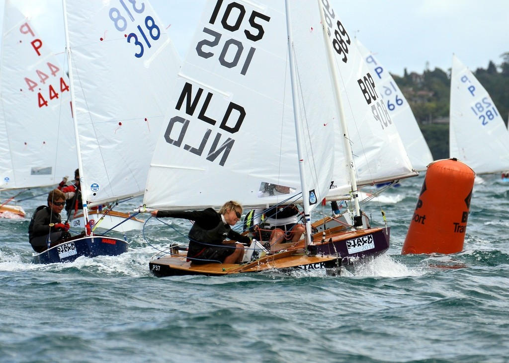 Final Race, 2012 Stack P class Tauranga Cup, Murray's Bay © Richard Gladwell www.photosport.co.nz