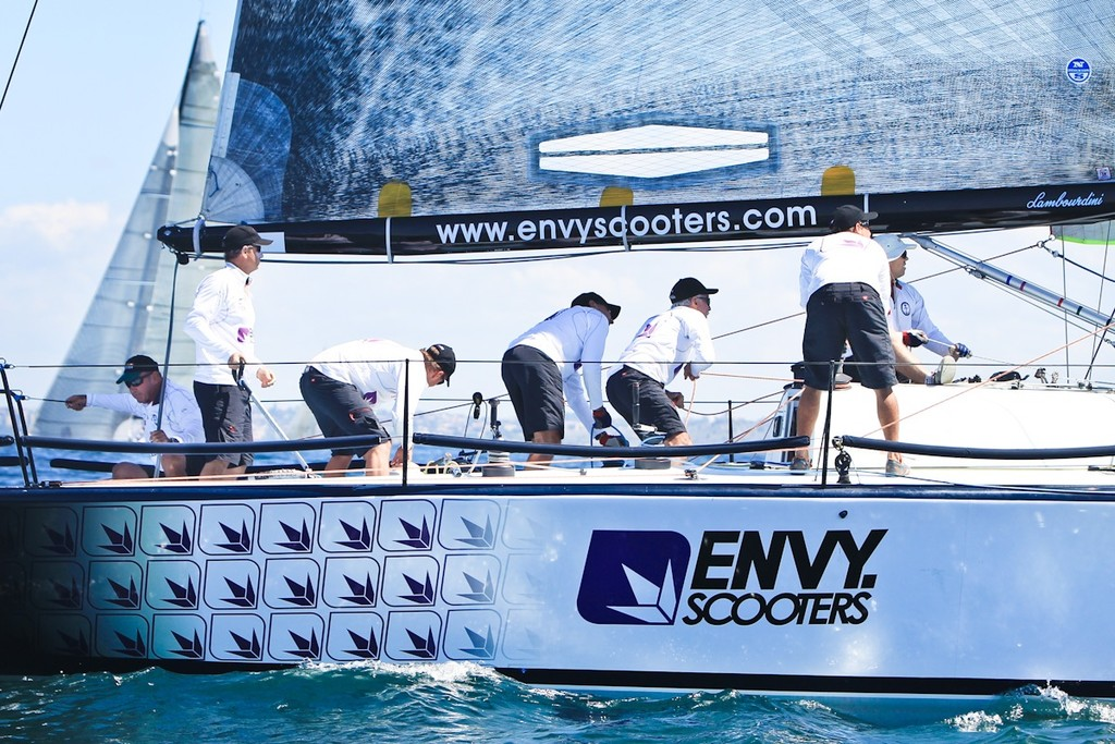 Lambourdini-Envy Scooters came from QLD for some good competition - Sydney Harbour Regatta hosted by Middle Harbour Yacht Club © Saltwater Images