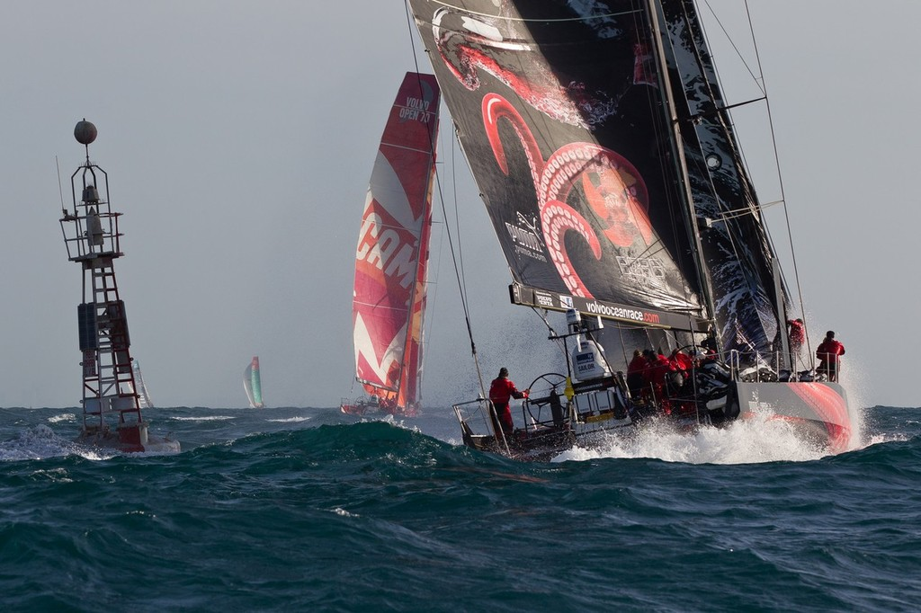 ff28f3e72f22 Volvo Ocean Race- Images from Finish of Leg 2