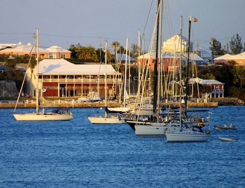 Bermuda St George's Harbour - photo by Kyle Hunter ©  SW