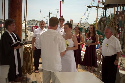 A.J. Meerwald serves many purposes - great venue for a wedding ©  SW