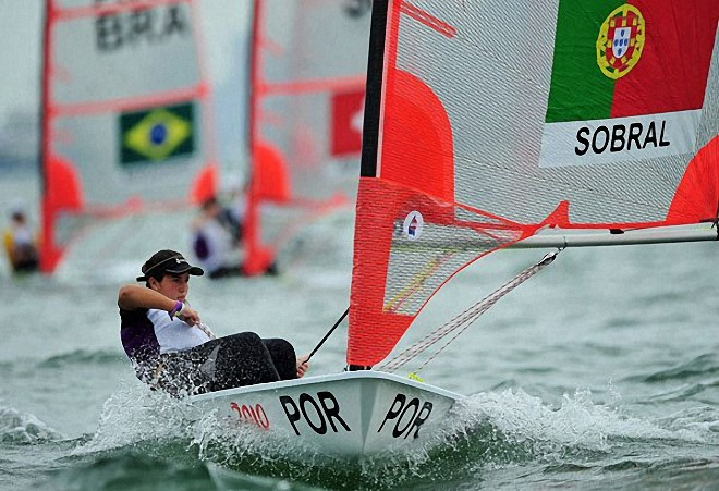Portugal's Sara Piasecka in the Byte CII © SPH-SYOGOC / Alphonsus Chern http://www.byteclass.org