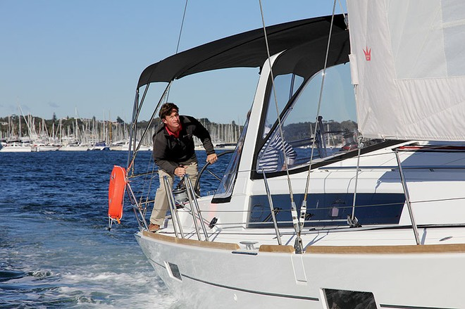 How easy it is to helm and trim. - Oceanis 45 ©  John Curnow