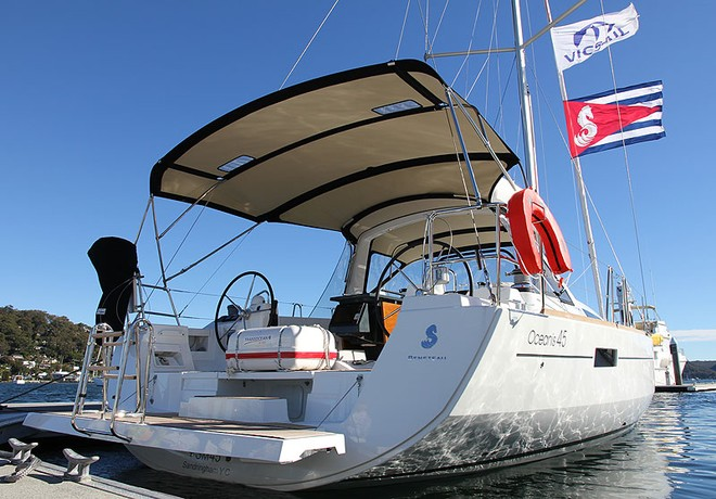 Beneteau Oceanis 45 - It's a big wrap! (Part II)