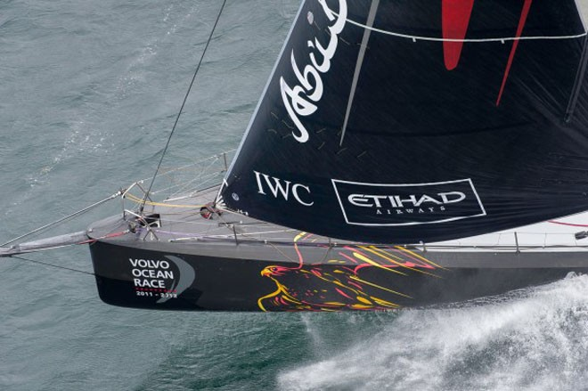 Abu Dhabi Ocean Racing, skippered by Ian Walker. © Paul Todd/Volvo Ocean Race http://www.volvooceanrace.com