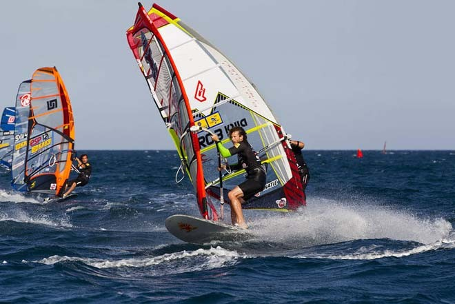 Cyril Moussilmani in action ©  John Carter / PWA http://www.pwaworldtour.com