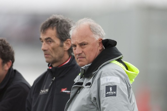Iain Murray (ACRM) grey jacket in his former role as America's Cup Regatta Director © ACEA - Photo Gilles Martin-Raget http://photo.americascup.com/