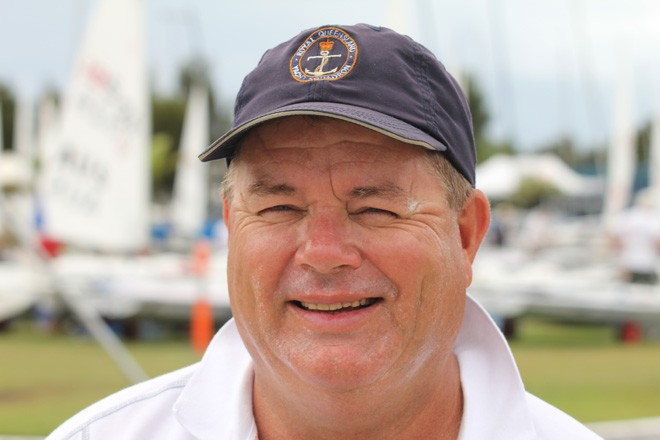 Paul Hughes - CEO Royal Queensland Yacht Squadron © Laser Masters Worlds Media 2012 http://www.lasersailing.com.au