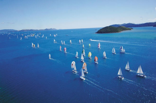Some of the best sailing to be had anywhere in the world is there to be enjoyed at Audi Hamilton Island Race Week © Jack Atley