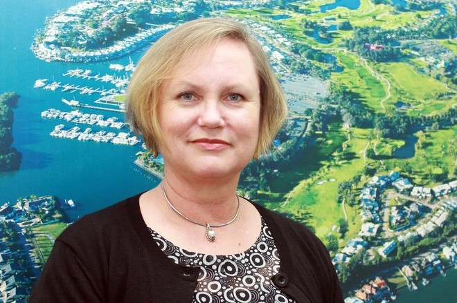Sue Thompson, General Manager - Sanctuary Cove International Boat Show © Marine Business World http://marinebusiness-world.com/