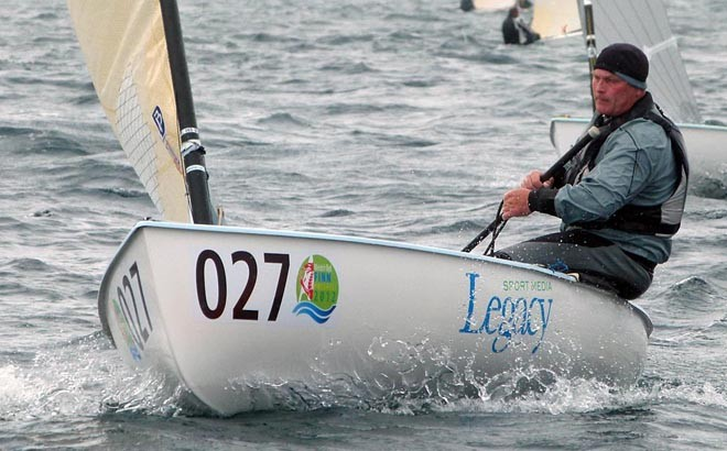 Finn World Masters 2012 day 4 - Allen Burrell © Claire ADB and BFA