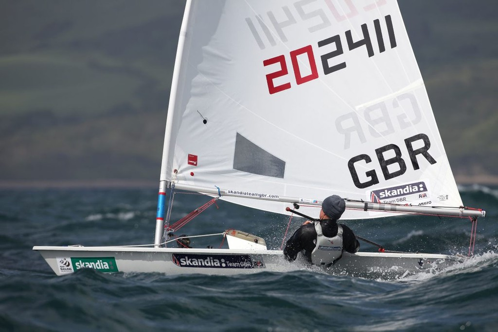 Alison Young, Laser Radial.<br /> <br />  &copy;  Richard Langdon/Skandia Team GBR