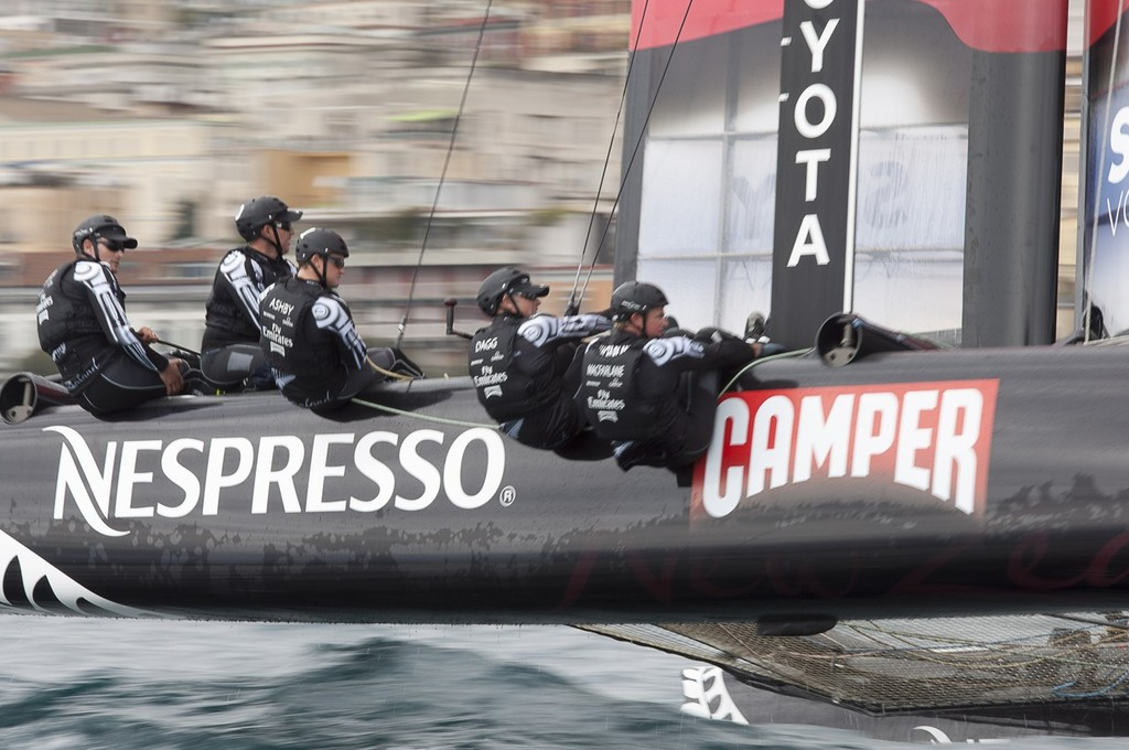 Emirates Team New Zealand - America's Cup World Series Naples 2012 © Chris Cameron/ETNZ http://www.chriscameron.co.nz