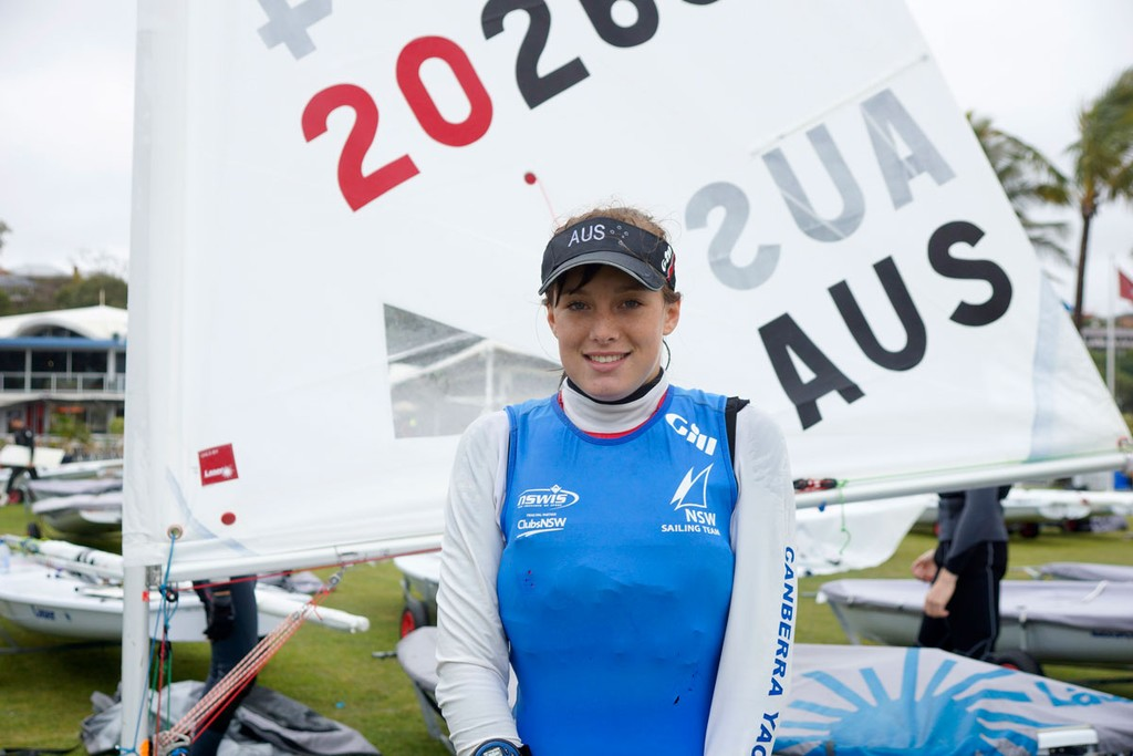 Cassandra, Day 1 - Laser Radial Youth World Championships 2012 © Royal Queensland Yacht Squadron