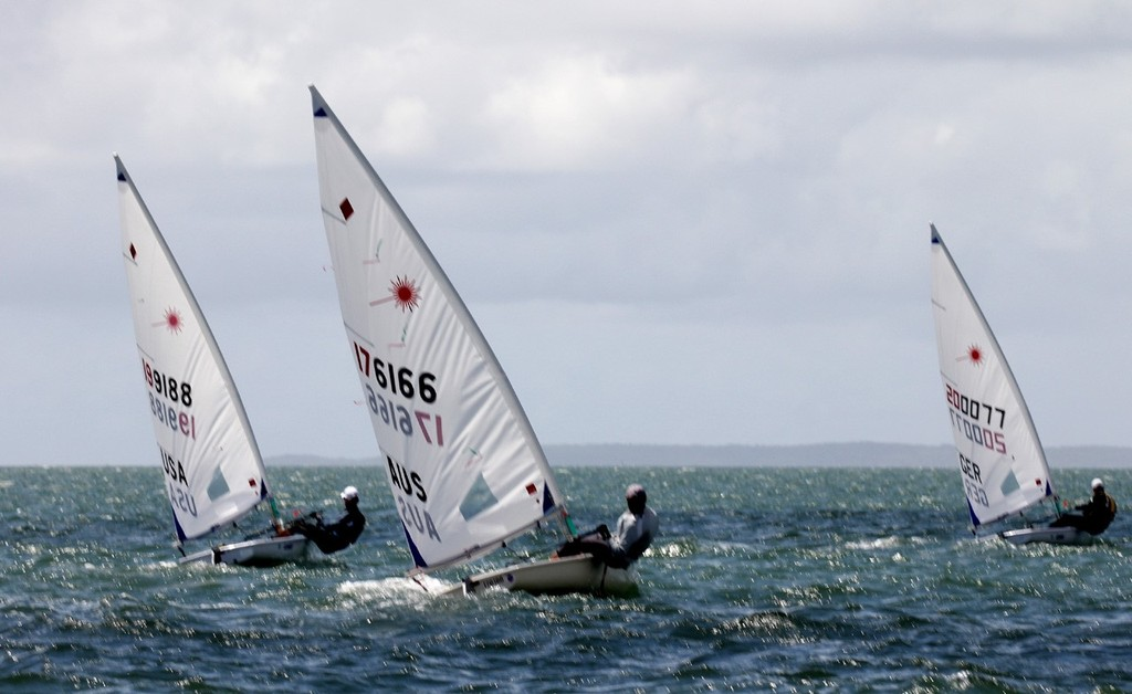 Laser Masters Radial Worlds upwind © Laser Masters Worlds Media 2012 http://www.lasersailing.com.au