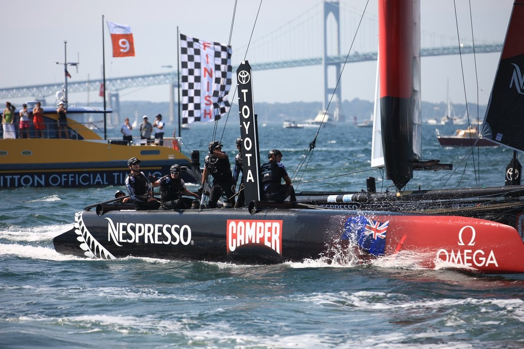 America's Cup World Series Newport 2012, Race Day 3 © ACEA - Photo Gilles Martin-Raget http://photo.americascup.com/