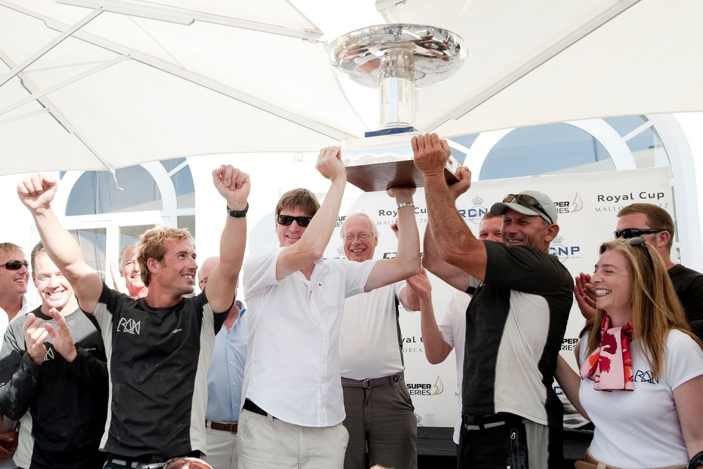 Royal Cup 2012 winners © Xaume Olleros / 52 Super Series