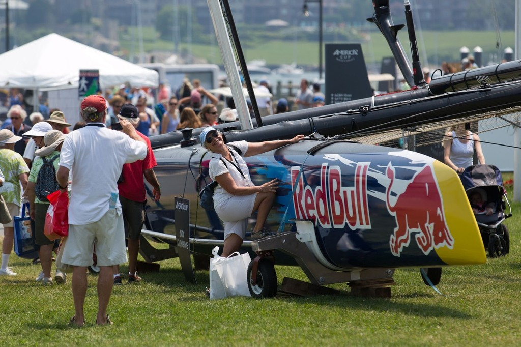 America's Cup World Series  Newport 2012, Racing Day 2 © ACEA - Photo Gilles Martin-Raget http://photo.americascup.com/