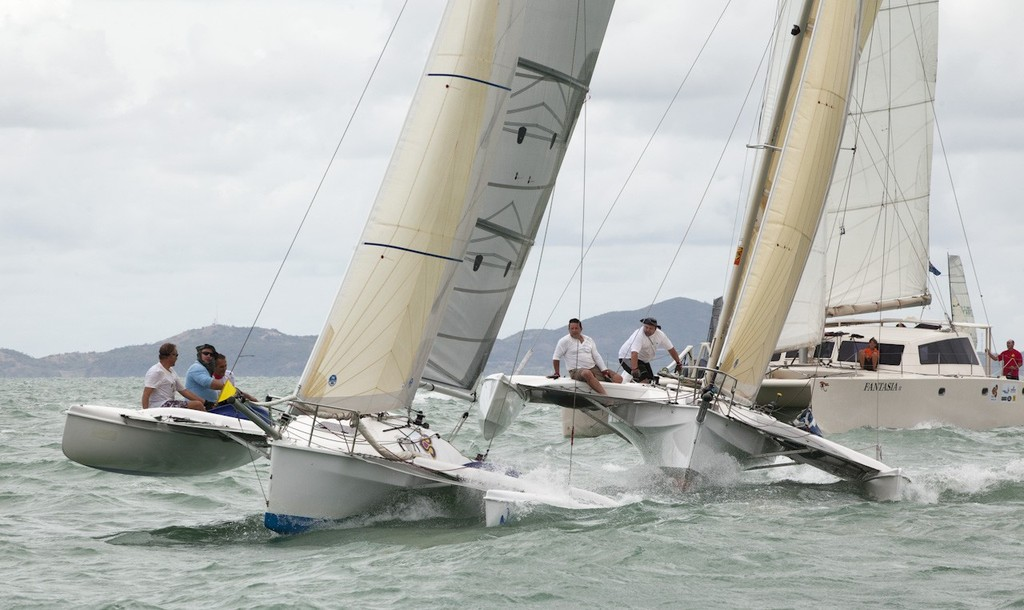 Top of the Gulf Regatta 2012 - Ocean Multihull start © Guy Nowell/Top of the Gulf