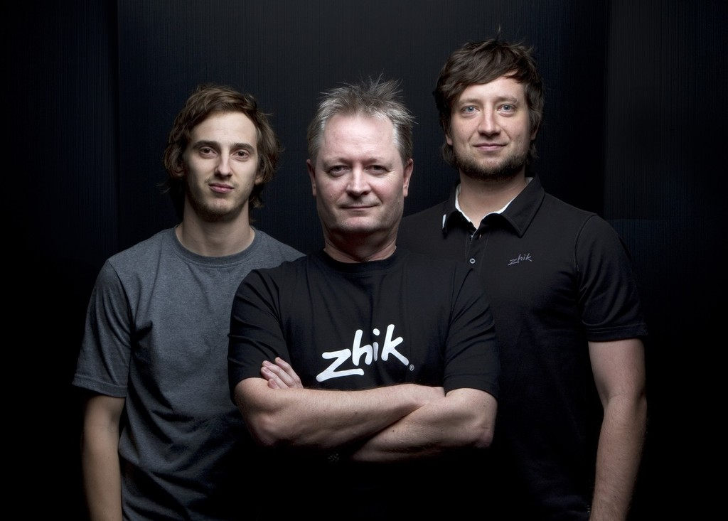 From left to right  Tom Hussey, Brian Conolly, Bart Milczarczyk © Zhik http://www.zhik.com