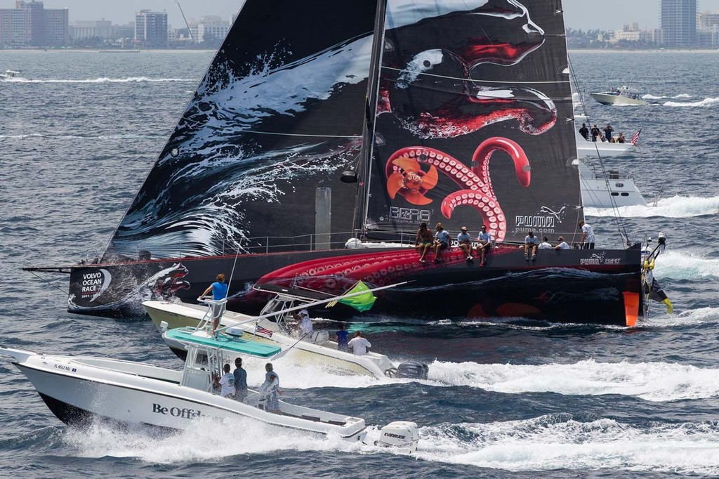 63b2888eec2f Volvo Ocean Race - Puma finish first in front of hometown crowd