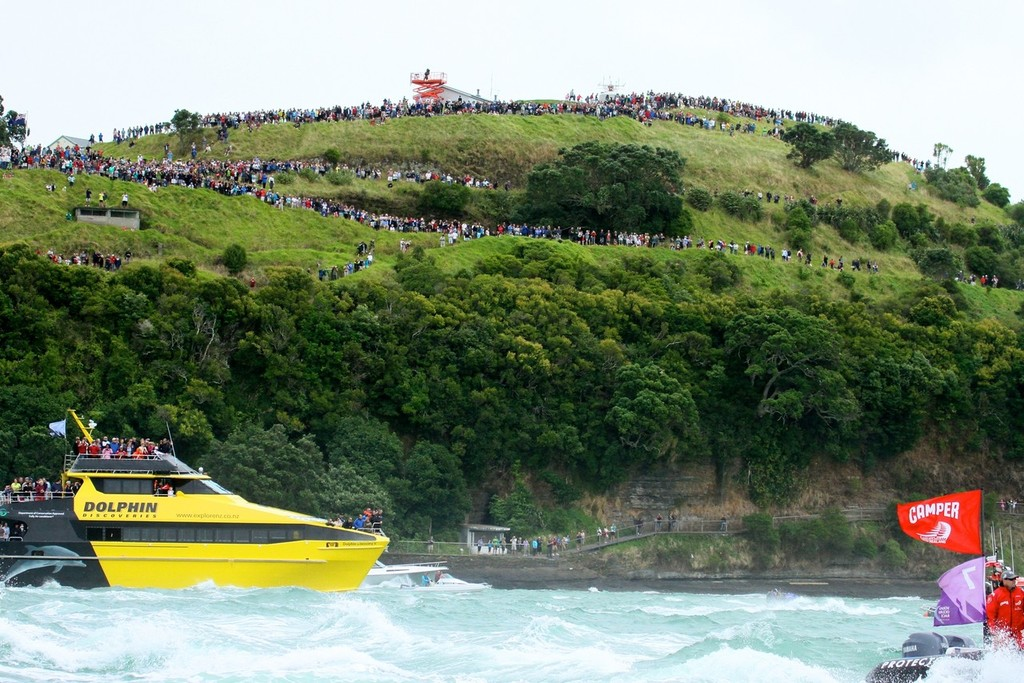 North Head is a popular sailing grandstand and will be a prime vantage point in the 2021 America's Cup - photo © Richard Gladwell www.photosport.co.nz