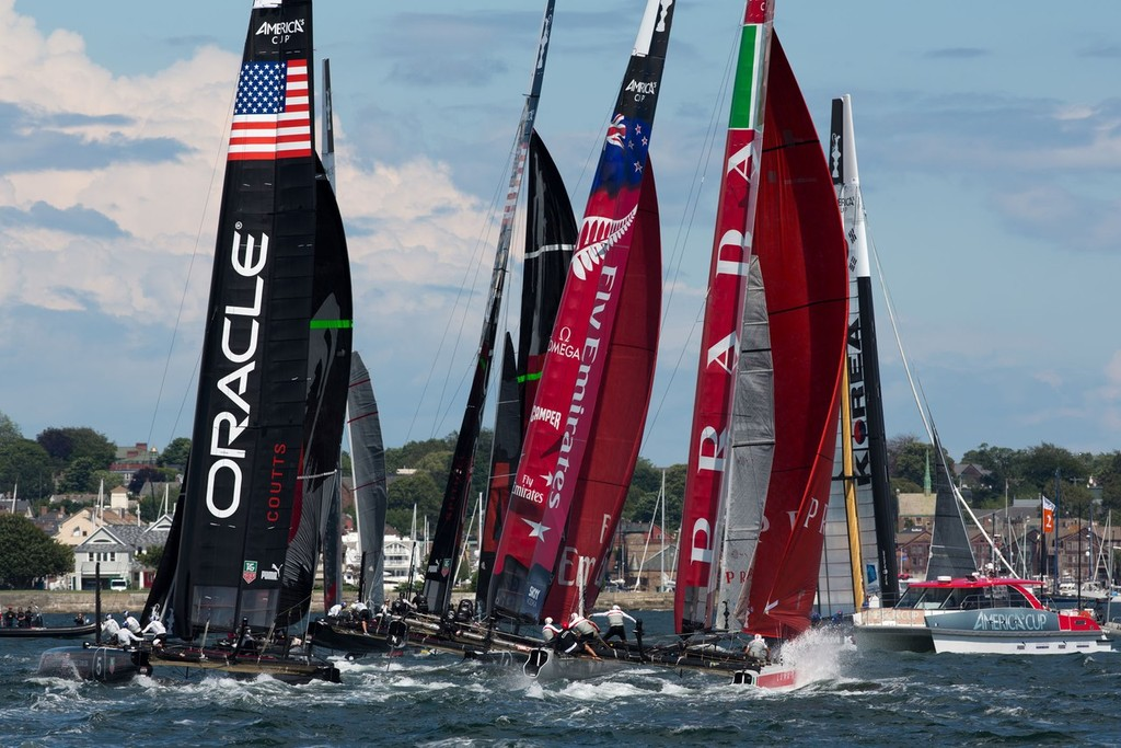Newport(USA,RI -America's Cup World Series Newport 2012, © ACEA - Photo Gilles Martin-Raget http://photo.americascup.com/