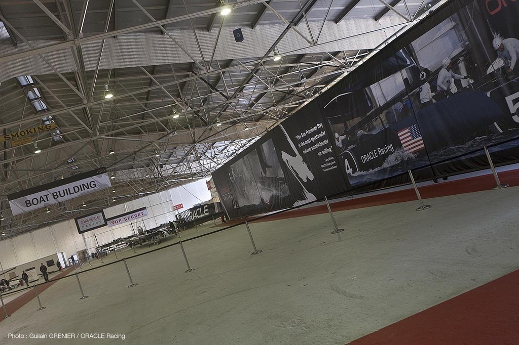 ORACLE Racing - Media Day at Pier 80 in San Francisco (USA) © Guilain Grenier Oracle Team USA http://www.oracleteamusamedia.com/