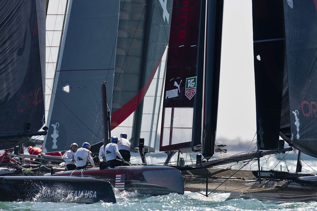 ACWS Venice / Oracle Team USA / Racing Day 1 © Guilain Grenier Oracle Team USA http://www.oracleteamusamedia.com/