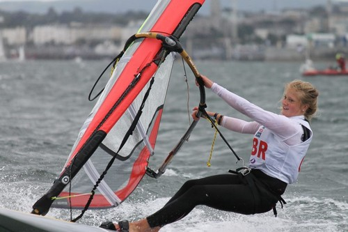 RS:X - Day 2 Four Star Pizza ISAF Girls Youth Sailing World Championship - the Youth Worlds form a vital link in the Olympic progression © ISAF Youth Worlds http://www.isafyouthworlds.com