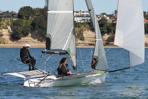 The Womens skiff and 49erFX have been confirmed for the 2016 and 2020 Olympic regatta © Richard Gladwell www.photosport.co.nz