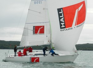 Holly Farmer led the charge from Tauranga but just did not get the breaks this year - Baltic Lifejackets 2012 NZ Women's Keelboat Championships photo copyright Tom Macky taken at  and featuring the  class