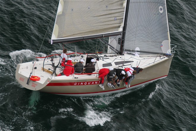 Cinquante is best of the Sydney 38's - 2012 Lipton Cup © Bernie Kaaks