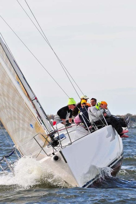 Paul Milo's J/109 Vento Solare took first place in IRC 3. ©  Dan Phelps/Spinsheet Magazine http://www.spinsheet.com/
