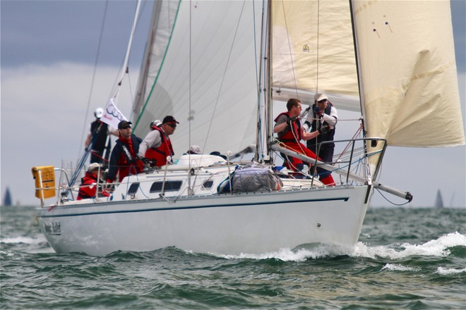 Action on board Magic Bullet - 2012 Lipton Cup © Bernie Kaaks