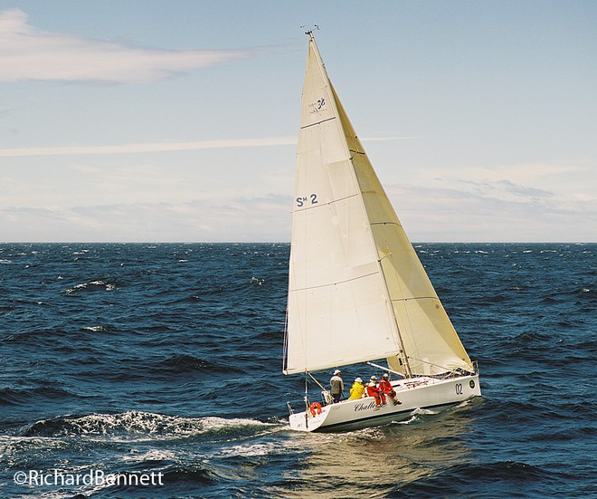 Lou and the gang head South once more aboard Challenge. - Sydney Hobart Race © Richard Bennett Photography