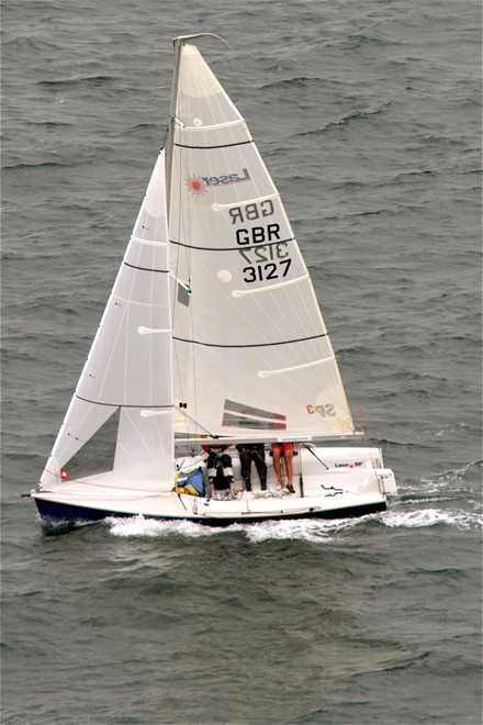 Foreign Object is well placed in the sports boat division - 2012 Lipton Cup © Bernie Kaaks