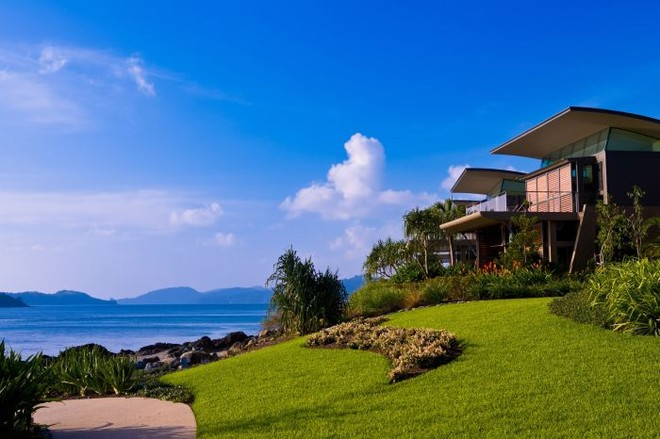 The Yacht Club Villa's are located right next to the marina in a exclusive gated community! © Kristie Kaighin http://www.whitsundayholidays.com.au