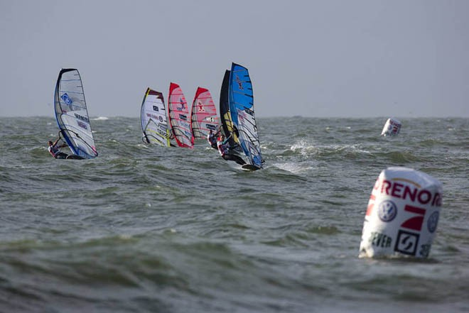 Heading for the first mark - 2012 PWA Sylt World Cup ©  John Carter / PWA http://www.pwaworldtour.com
