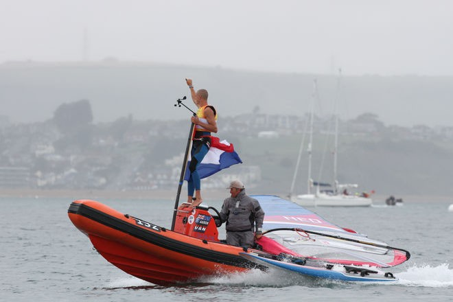 Men's Windsurfing - London 2012 Olympic Sailing Competition © Ingrid Abery http://www.ingridabery.com
