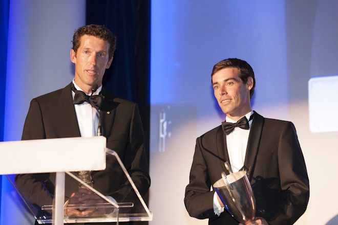 Malcolm Page and Mathew Belcher were named Male Sailor of the Year alongside their teammates - Australian Yachting Awards ©  Andrea Francolini Photography http://www.afrancolini.com/