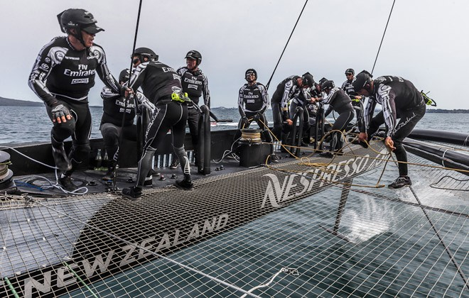 America s Cup- Rod Davis - a day in the AC72 testing life + Video 14d833f63854