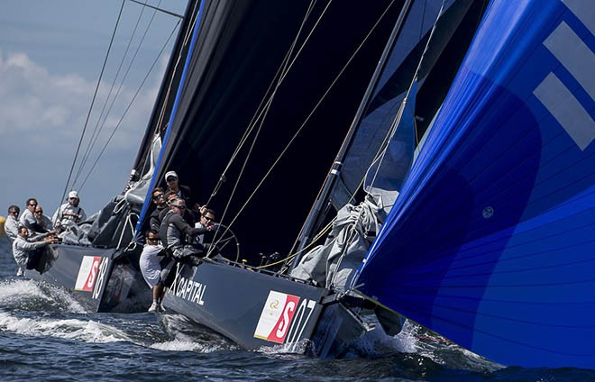 AFX Capital Racing Team ITA - RC44 Sweden Cup 2012 © Heesen/Carlo Borlenghi
