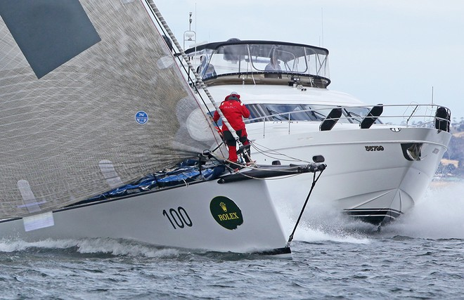 Powering to the finish - Rolex Sydney Hobart Race 2012 © Crosbie Lorimer http://www.crosbielorimer.com