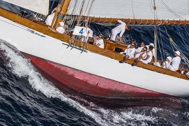 AVEL, Identification n: CAG4, Group: EAA, Boat Type: GAFF RIGGED CUTTER ©  Rolex / Carlo Borlenghi http://www.carloborlenghi.net