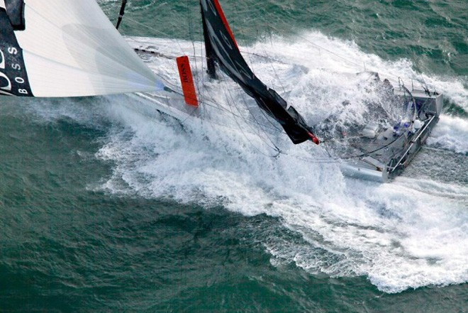 <b>Image of the Day</b> Hugo Boss - 2012 Vendee Globe &copy; Christophe Launay
