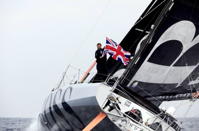Alex Thomson, Hugo Boss - 2012 Vendee Globe © Christophe Launay