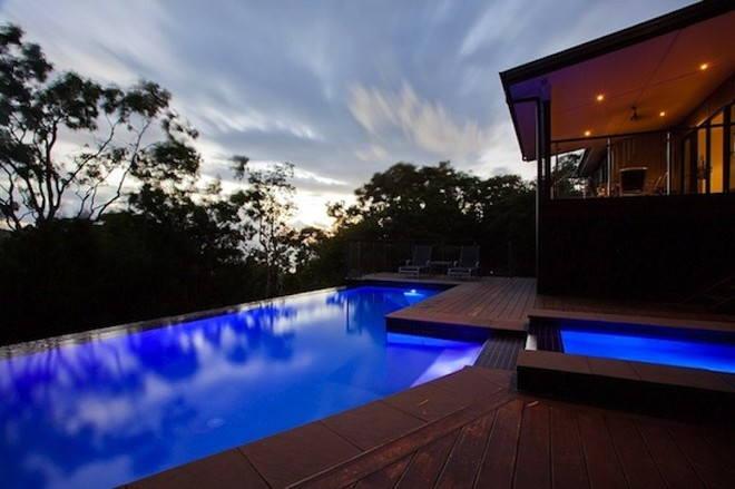 You will love the amazing pool that Infinity has to offer...Plus you can enjoy the daily sunset! © Kristie Kaighin http://www.whitsundayholidays.com.au