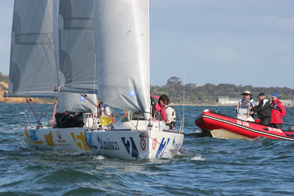 The grand Final Match-Up - Australian Open and Australian Women's Match Racing Championships © Pam Scrivenor CYCA Staff